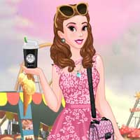 Free online flash games - Beauty Princess Modern Life game - Games2Dress