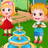 Free online flash games - Baby Hazel Spring Time game - Games2Dress