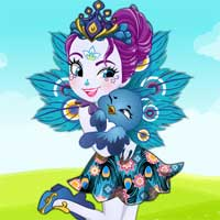 Free online flash games - Patter Peacock Dress Up Starsue game - Games2Dress
