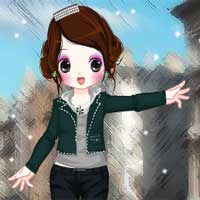 Free online flash games - London Streets game - Games2Dress