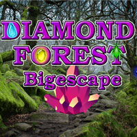 Free online flash games - Diamond Forest Bigescape game - Games2Dress