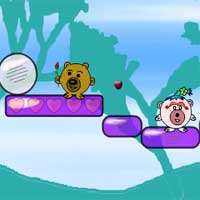 Free online flash games - Dude Bear Love Adventure TimekillGames game - Games2Dress
