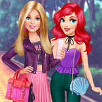 Free online flash games - Ellie Princesses Meetup EnjoyDressup game - Games2Dress