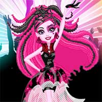 Free online flash games - Dance the Fright Away Draculaura StarSue game - Games2Dress