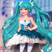 Free online flash games - Akihabara Tokyo Fashion game - Games2Dress