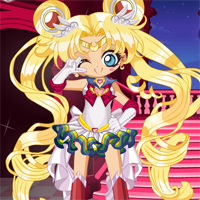 Free online flash games - Sailor Chibi Moon Chibiusa Dress Up Starsue game - Games2Dress