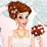 Free online flash games - Princesses Bridal Salon game - Games2Dress