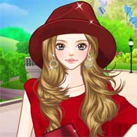 Free online flash games - Colorful Leggings Anime game - Games2Dress