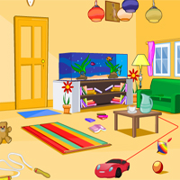 Free online flash games - EscapeGames3 Kid Room Escape game - Games2Dress