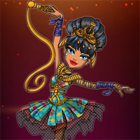 Free online flash games - Ballerina Ghouls Cleo de Nile Dress Up Starsue game - Games2Dress