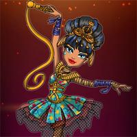 Free online flash games - Ballerina Ghouls Cleo de Nile Dress Up Starsue game - Games2Dress