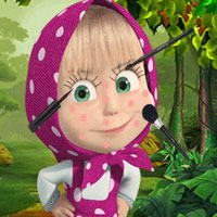 Free online flash games - Masha Makeover Year LooGames game - Games2Dress