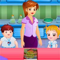 Free online flash games - Baby Hazel Science Fair game - Games2Dress