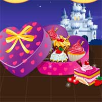 Free online flash games - Heart Chocolate Box game - Games2Dress