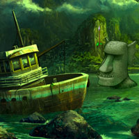 Free online flash games - Incognito Island Escape game - Games2Dress