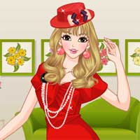Free online flash games - Red Hot Makeover game - Games2Dress