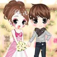 Free online flash games - Flower Bride game - Games2Dress
