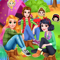 Free online flash games - Camping School Trip game - Games2Dress