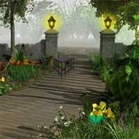 Free online flash games - FirstEscapeGames Magical Forest Monster Escape game - Games2Dress