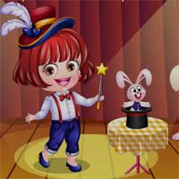 Free online flash games - Baby Hazel Magician Dressup game - Games2Dress