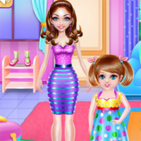 Free online flash games - Crazy Mommy Busy Day GamesForGirlz game - Games2Dress
