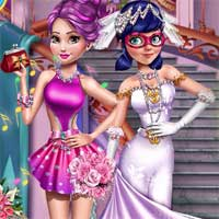 Free online flash games - Special Miraculous Wedding Girlhit game - Games2Dress