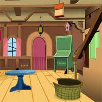 Free online flash games - KnfGame Fantasy House Escape game - Games2Dress