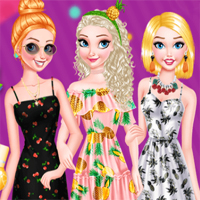 Free online flash games - Princesses Fruity Nails Capy game - Games2Dress
