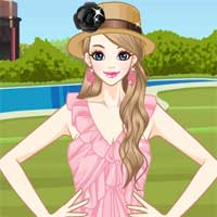 Free online flash games - Pleated Fashion game - Games2Dress
