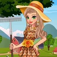 Free online flash games - Editors Pick Chic Farmer game - Games2Dress