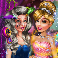 Free online flash games - Witch To Princess Makeover game - Games2Dress