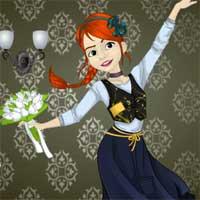 Free online flash games - Throwback Tiny Ballerina game - Games2Dress