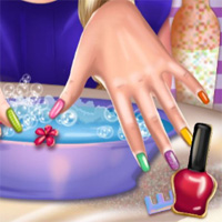 Princess Nail Makeover Playdora