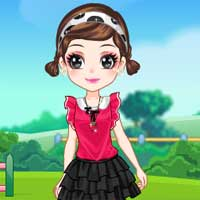 Free online flash games - My Cute Dolls game - Games2Dress