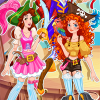 Free online flash games - Pirate Princess Halloween Dress Up Girlsplay game - Games2Dress