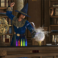 Free online flash games - 365Escape Wizard House Escape game - Games2Dress