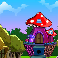 Free online flash games - G4K Mushroom House Escape game - Games2Dress