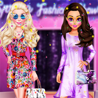 Free online flash games - BFF Spring Fashion Show 2018 7sGames game - Games2Dress