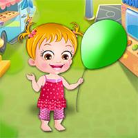 Free online flash games - Baby Hazel Ballon game - Games2Dress