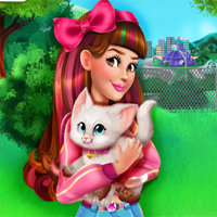 Free online flash games - Victoria Adopts A Kitten game - Games2Dress