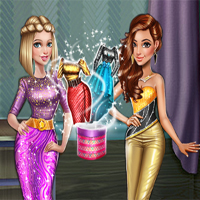 Free online flash games - Dolly Party Dress Up game - Games2Dress