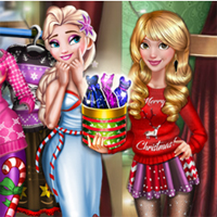 Free online flash games - Dove Christmas Surprises game - Games2Dress