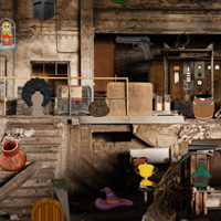 Abandoned Room Hidden Objects