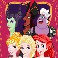 Free online flash games - Princess And Villain FaceSwap Dressupwho game - Games2Dress
