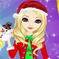 Free online flash games - Miss Santa Makeover game - Games2Dress