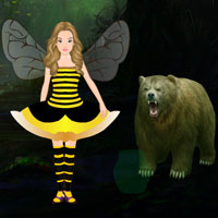 Free online flash games - Escape Game Save the Queen Bee Wowescape game - Games2Dress