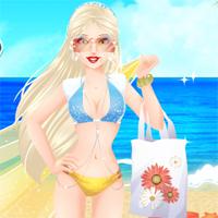 Free online flash games - Princess Summer Designer game - Games2Dress