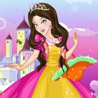 Free online flash games - Magic Princess game - Games2Dress