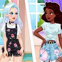 Free online flash games - Crystal and Noelles Social Media Adventure game - Games2Dress
