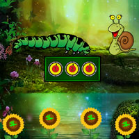 Free online flash games - Escape Game Save The Caterpillar game - Games2Dress